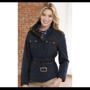 Adorable Johnston and Murphy quilted Jacket